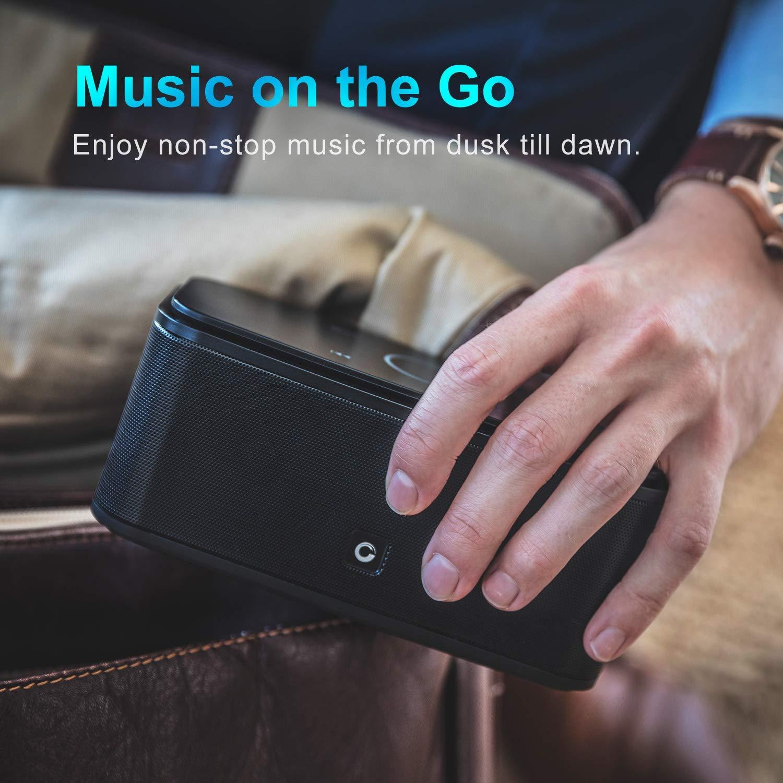 Loa bluetooth DOSS SoundBox Touch (màu đen) - Hàng Chính Hãng