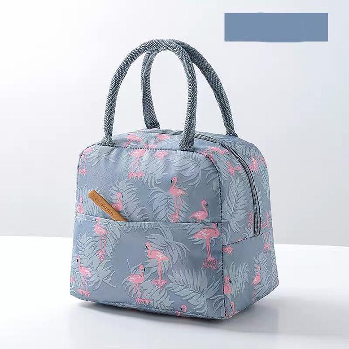 Túi đựng hộp cơm giữ nhiệt lót bạc - TGN