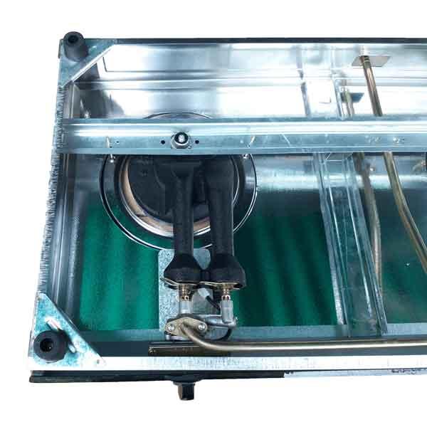 Bếp gas hồng ngoại điếu gang có chế đọ hâm fi120 Redhome TN-780G  - Hàng chính hãng
