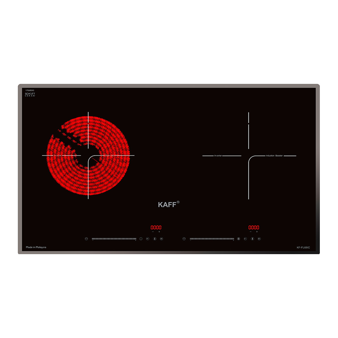 Bếp điện từ kết hợp KAFF KF-FL68IC - Hàng chính hãng