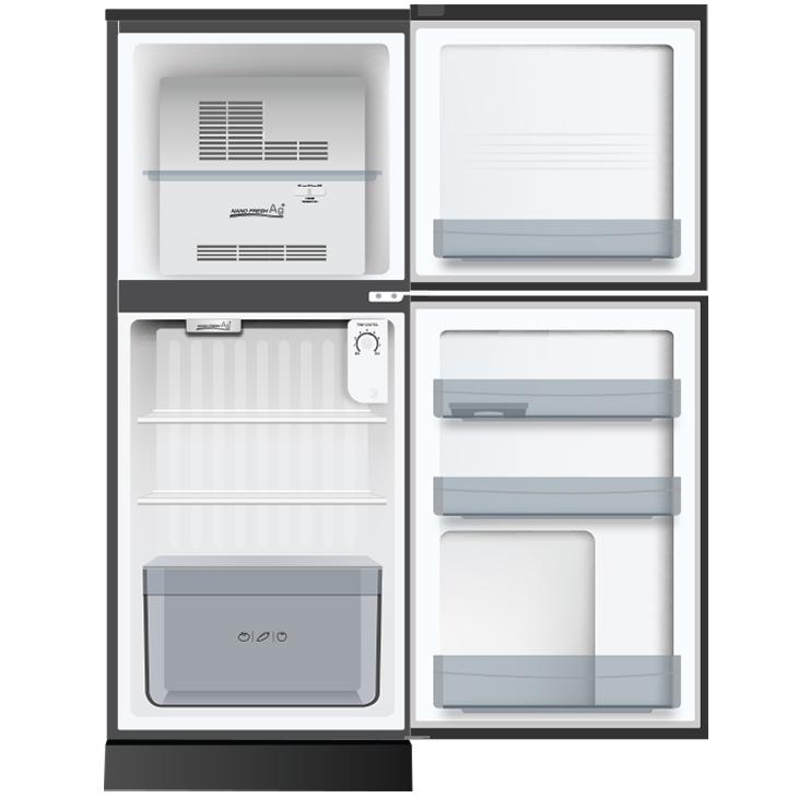 Tủ Lạnh Aqua AQR-T150FA-BS (130L) - Hàng Chính Hãng - Chỉ giao tại Hà Nội