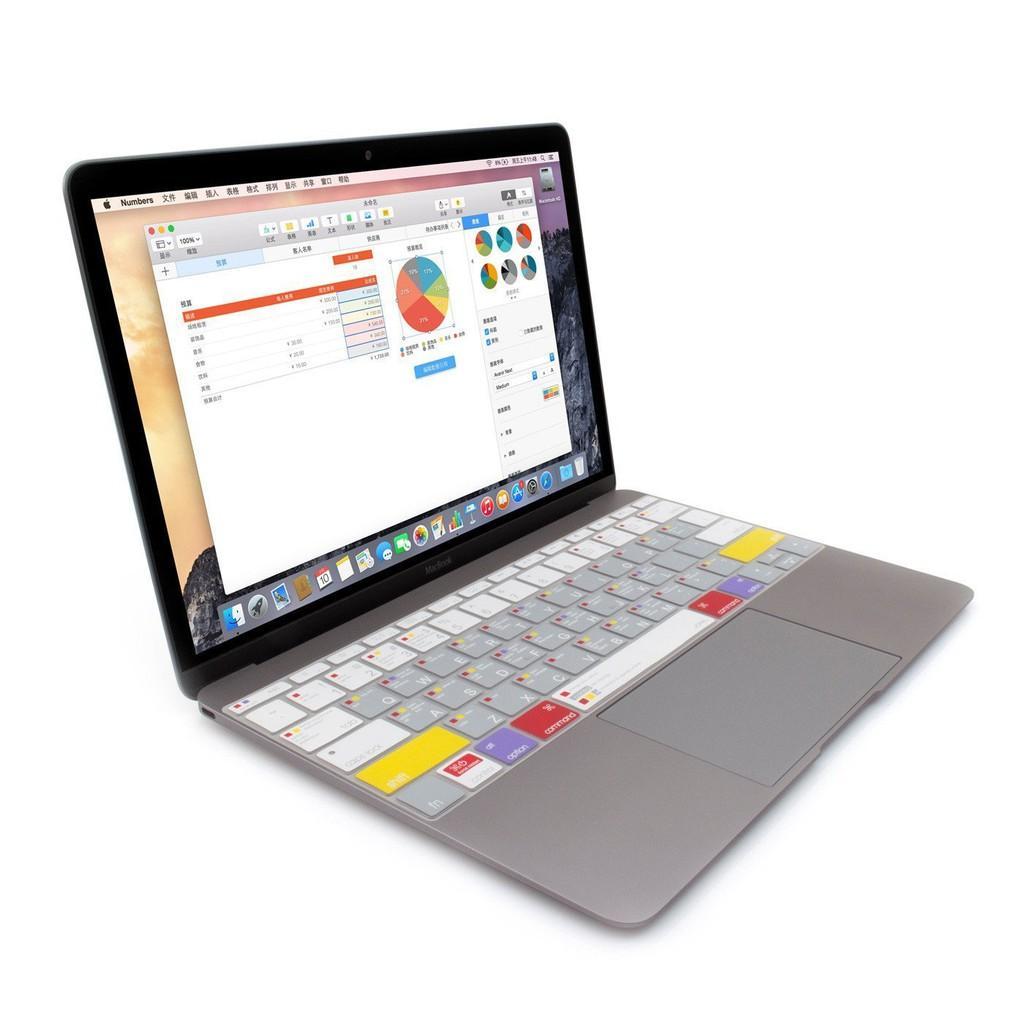 Phủ phím cao cấp JCPAL Shortcut cho Macbook 12/13/15