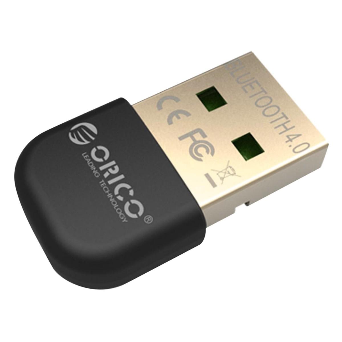 USB Bluetooth 4.0 Orico BTA-403 cho PC, Laptop (Tặng kèm cáp OTG) - Hàng chính hãng