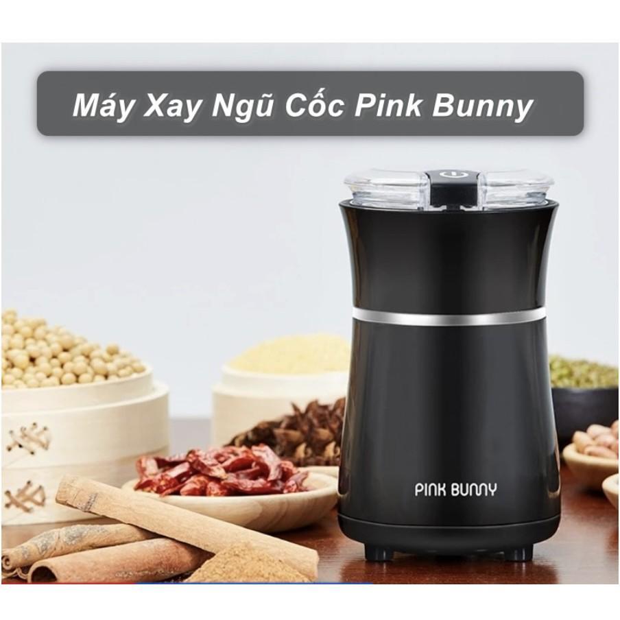 Máy xay nghiền ngũ cốc xay gia vị nhà bếp đa năng Pink Bunny