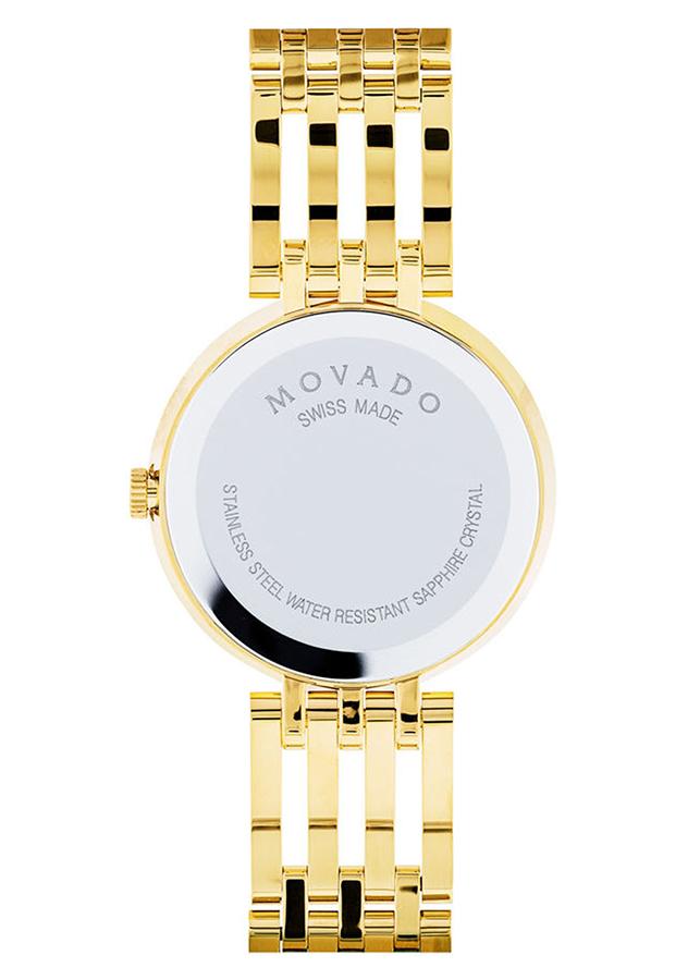 Đồng Hồ Nữ Dây Kim Loại Movado 0607054 (28mm) - Vàng