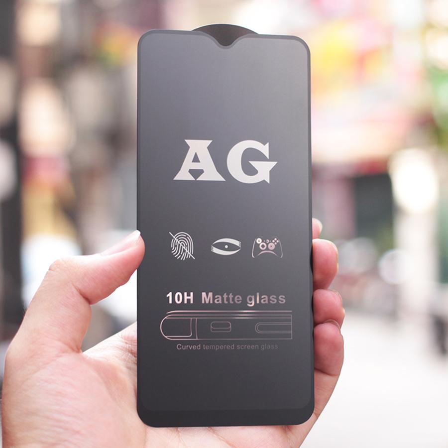 Kính Cường Lực Nhám Full Màn Chống Vân Tay Dành Cho Samsung Galaxy M31 Full màn hình Full Keo- Handtown - Hàng Chính Hãng