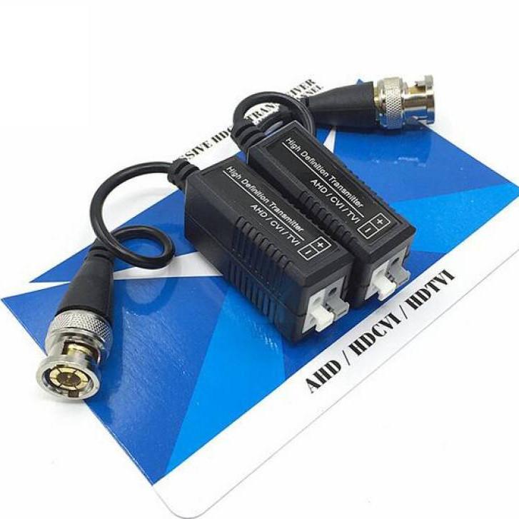 Video Balun Chuyên Dùng Camera AHD - CVI- TVI 2MP-Hàng chính hãng