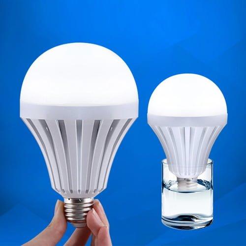 Combo 2 bóng đèn Led cảm ứng tích điện 7W (tặng kèm chui sạc)