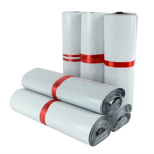 Túi gói hàng niêm phong cao cấp DUTU - Màu Trắng - 25x35 Chất liệu nhựa PE siêu Bền, Dai, Bảo Mật