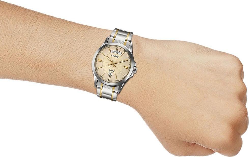 Đồng hồ nam dây kim loại Casio MTP-1381G-9AVDF