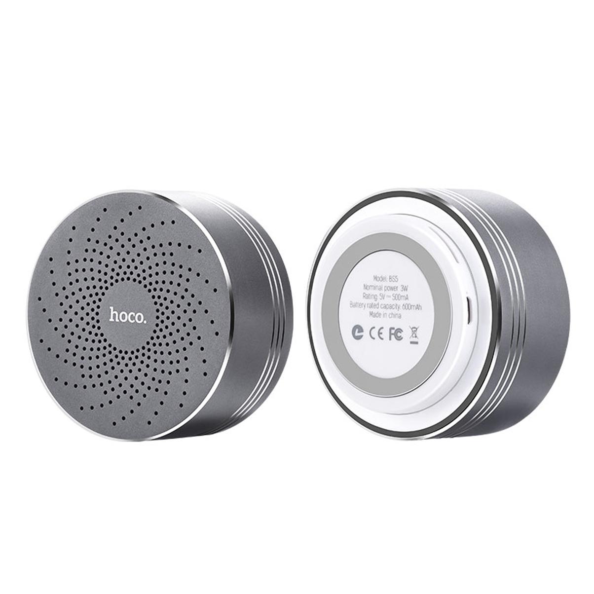 Loa Nghe Nhạc Bluetooth BS5 Hoco - Tặng Giá Đỡ Điện Thoại-Hàng Chính Hãng