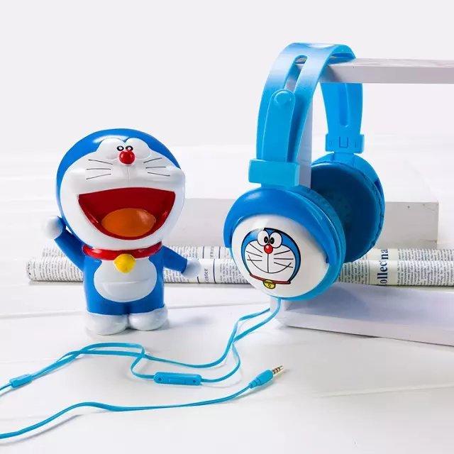 Tai nghe chụp tai Y-1 hình cartoons cực cute , âm thanh to và chắc, cách âm tốt , dây liền, có nhiều hình hot.