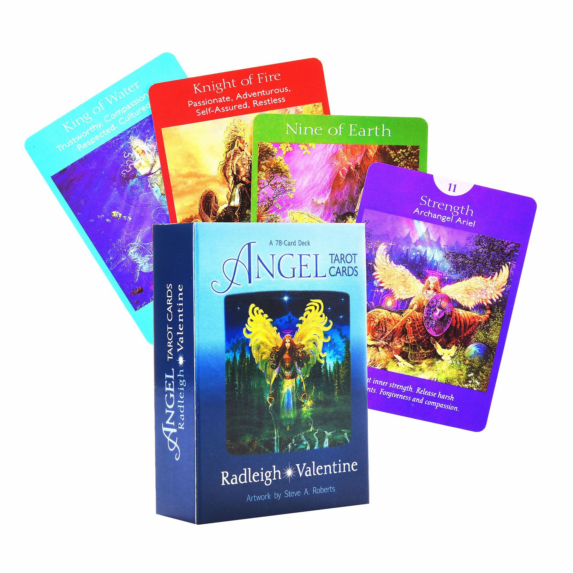 Bộ Bài Bói Tarot  Angel Tarot Oracle 78 Card Cao Cấp