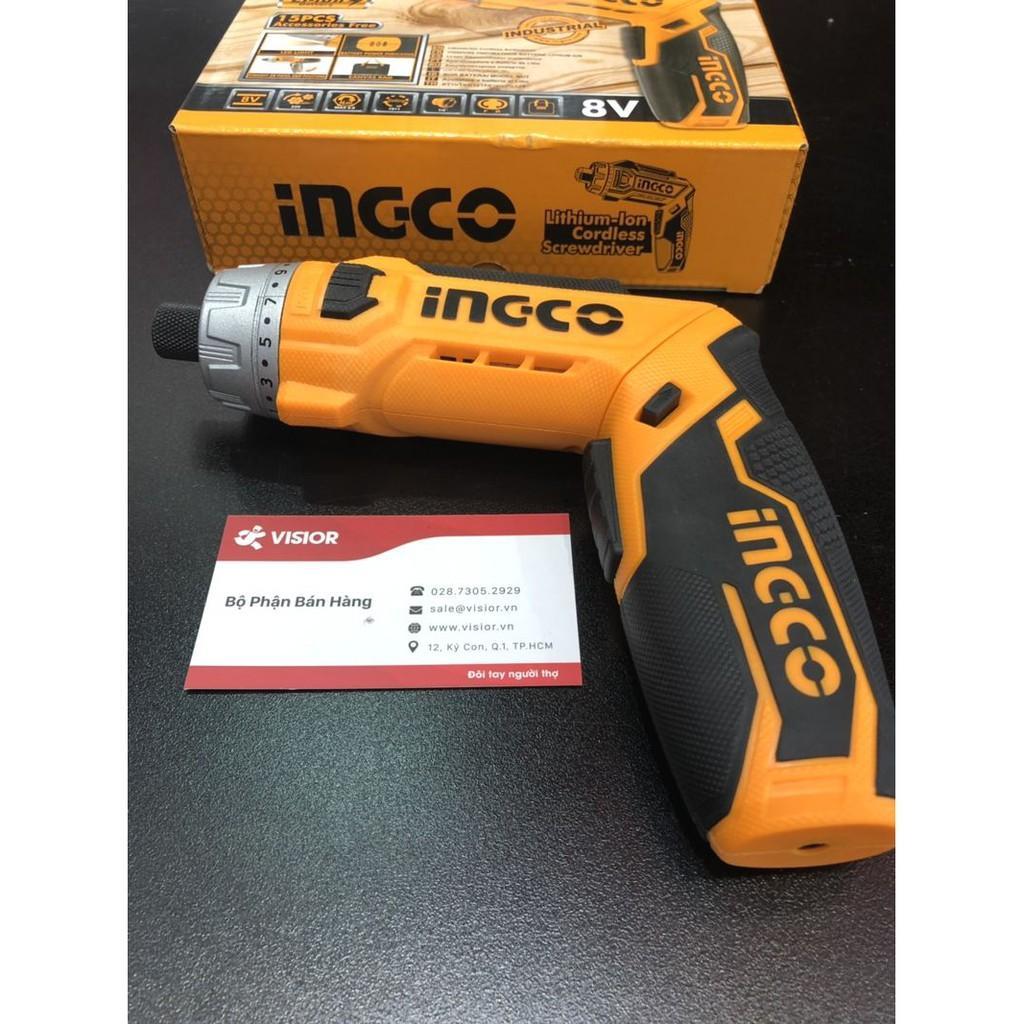 8V Máy siết vít dùng pin INGCO CSDLI0801