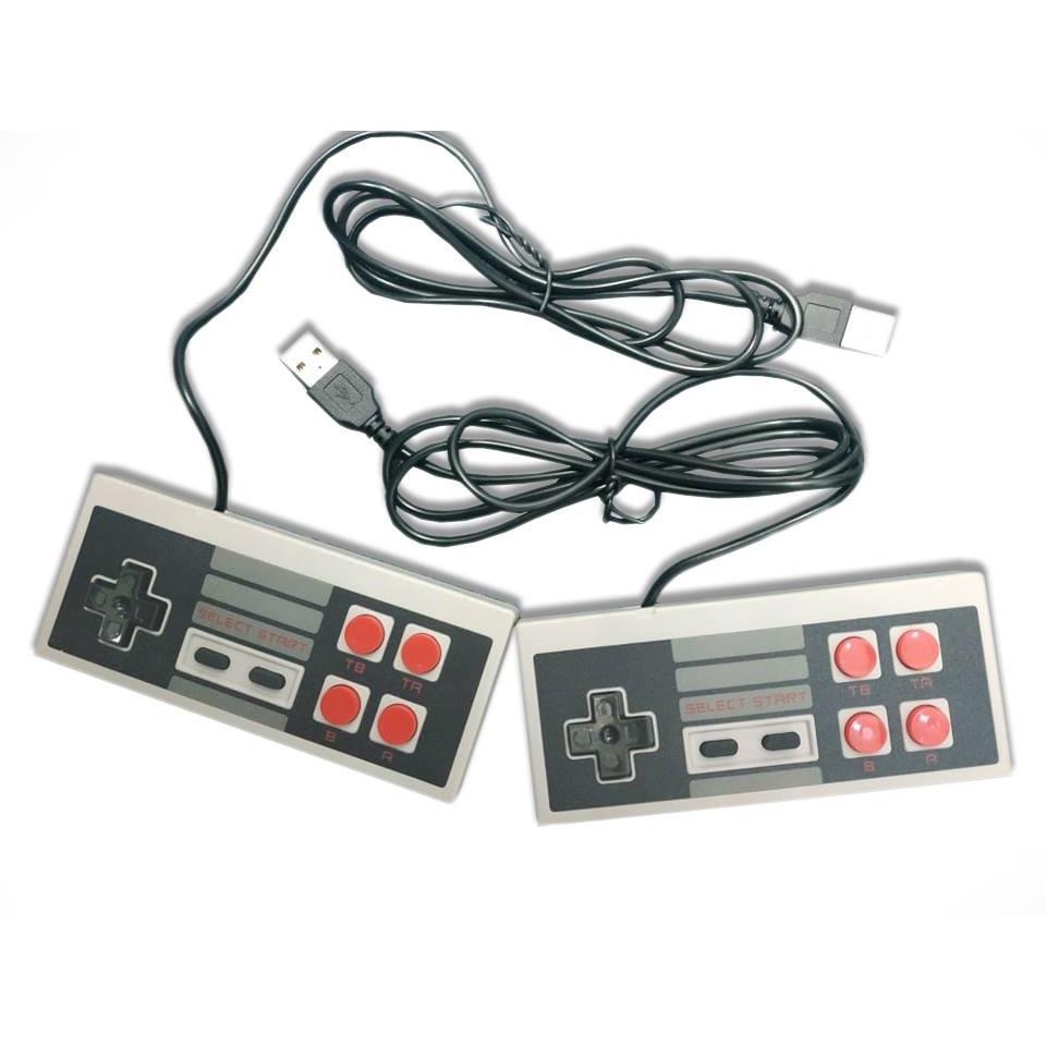 Bộ 2 tay cầm chơi game 4 nút cổng USB dành cho các máy chơi game 4 nút