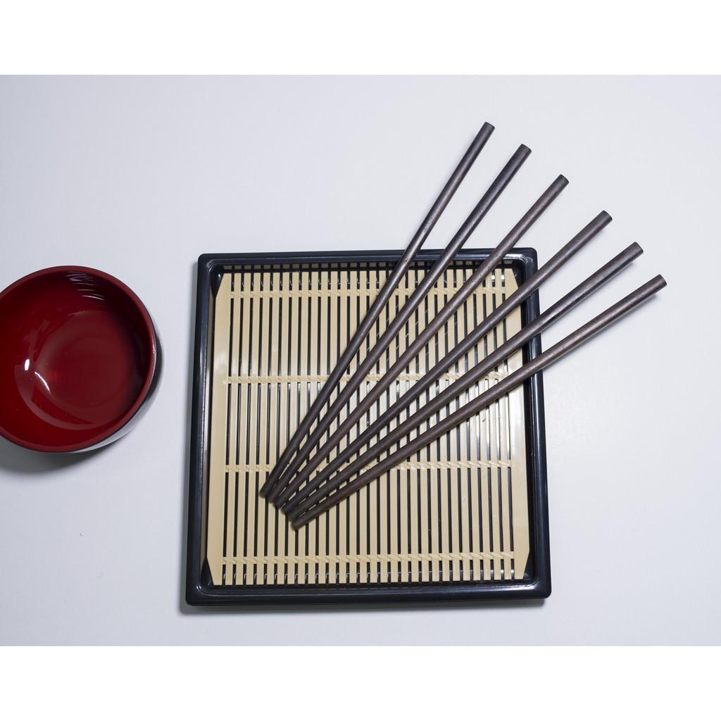 Bộ 30 đôi đũa gỗ ăn cơm cao cấp đũa gỗ SẮN ỔI, đũa đẹp tự nhiên không hoá chất, không cong vênh, chống mốc