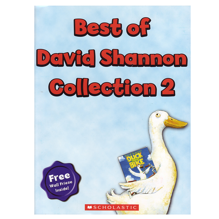 Best of David Shannon Collection 2 - 4 Books