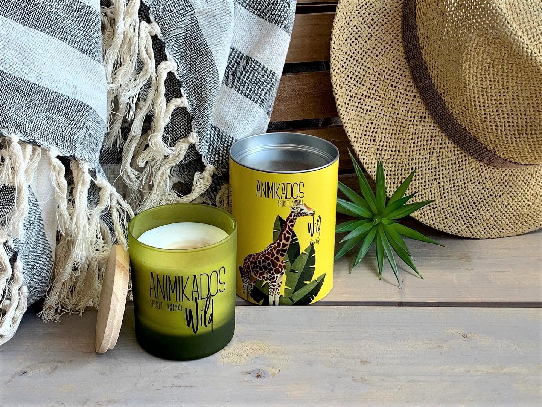 Nến thơm tinh dầu Ambient Giraffe mùi Waterlily