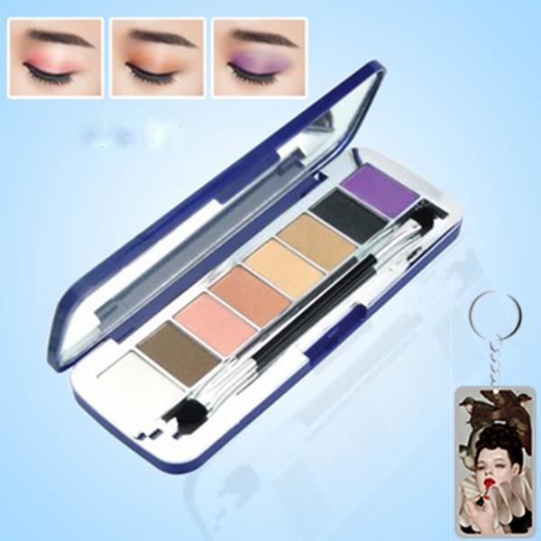 Phấn mắt 8 ô siêu mịn Mira Aroma Shadow Palette 8 Colors Hàn Quốc (2g x8) No.1 tặng kèm móc khoá