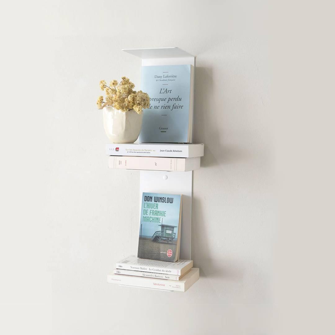 Kệ Sách Treo Tường SMLIFE V60 - Bằng Thép Sơn Tĩnh Điện Hiện Đại Tiết Tiệm Không Gian Lưu Trữ Sách Cho Căn Hộ Nhỏ