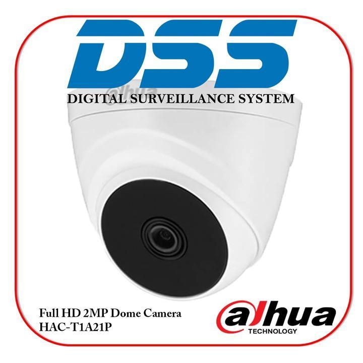 Camera HDCVI Dome  Dahua DH-HAC-T1A21P 2MP 1080P chính hãng DSS Việt Nam