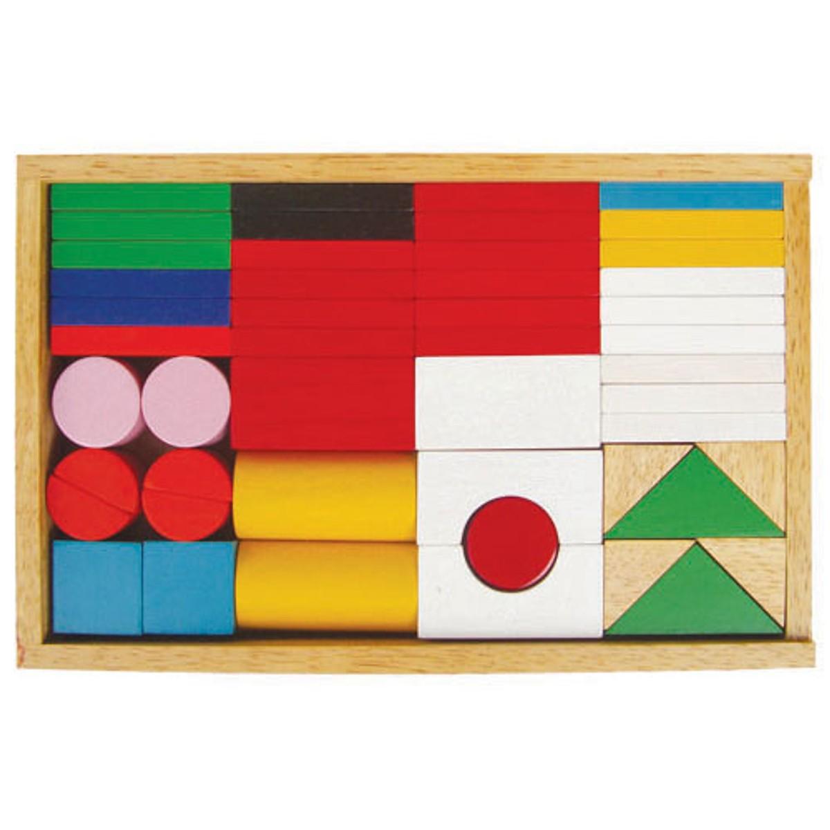 Bộ Cờ Quốc Gia  - Đồ chơi gỗ trí tuệ