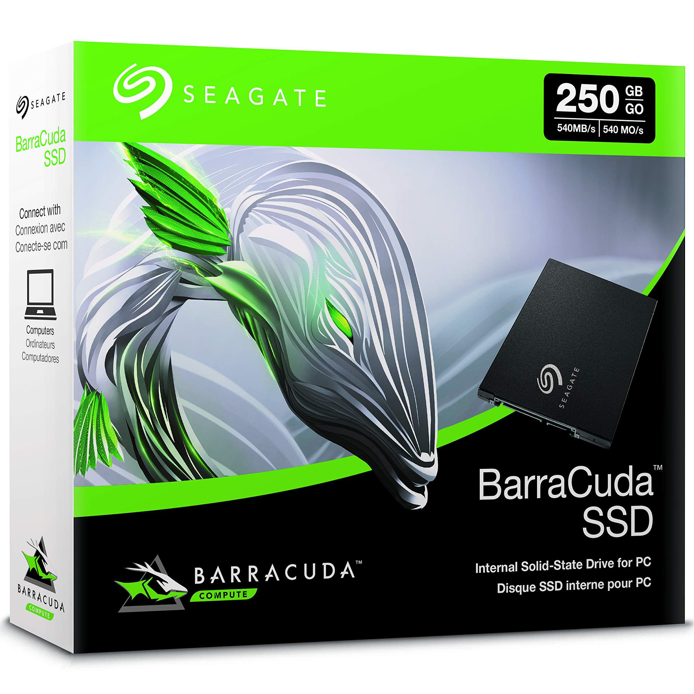 Ổ cứng SSD Seagate BarraCuda SATA 250Gb ZA250CM1A002 - Hàng Chính Hãng