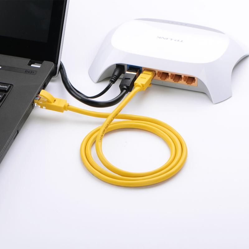 Cáp mạng đúc sẵn 2 đầu Cat 5 dài 10M Ugreen NW103 30642 - Hàng chính hãng