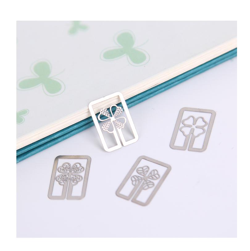 Hộp bookmark bằng sắt mini siêu đẹp (Giao hình ngẫu nhiên)
