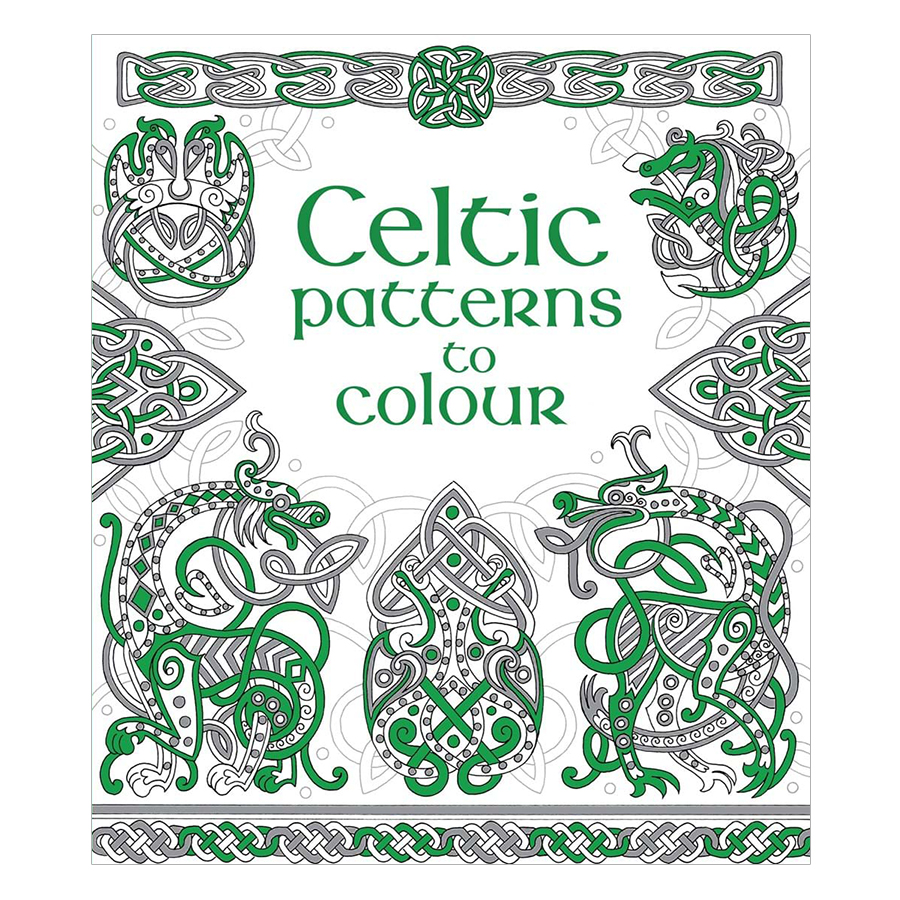 Usborne Celtic Patterns to Colour