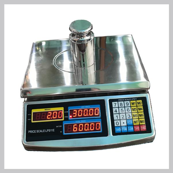 Cân tính giá điện tử LPS11E, 30kg-10g