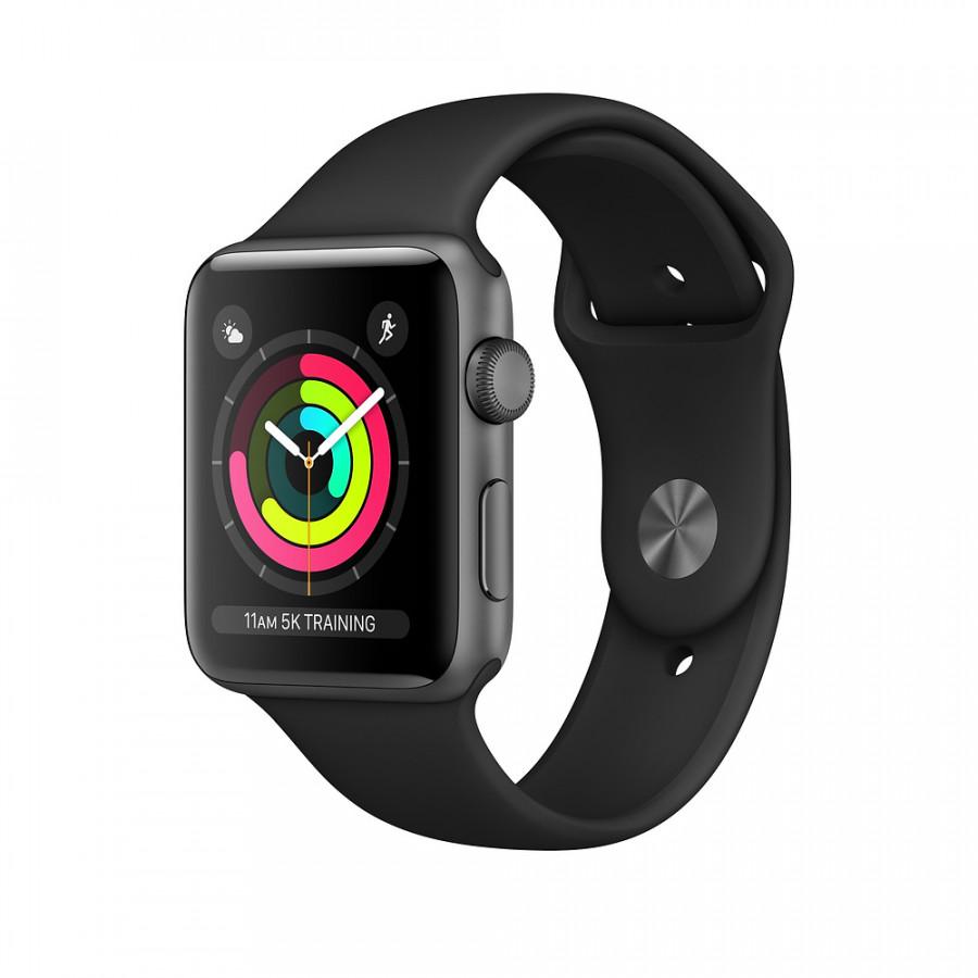 Hình ảnh Đồng Hồ Thông Minh Apple Watch Series 3 GPS Aluminum Case With Sport Band - Nhập Khẩu Chính Hãng