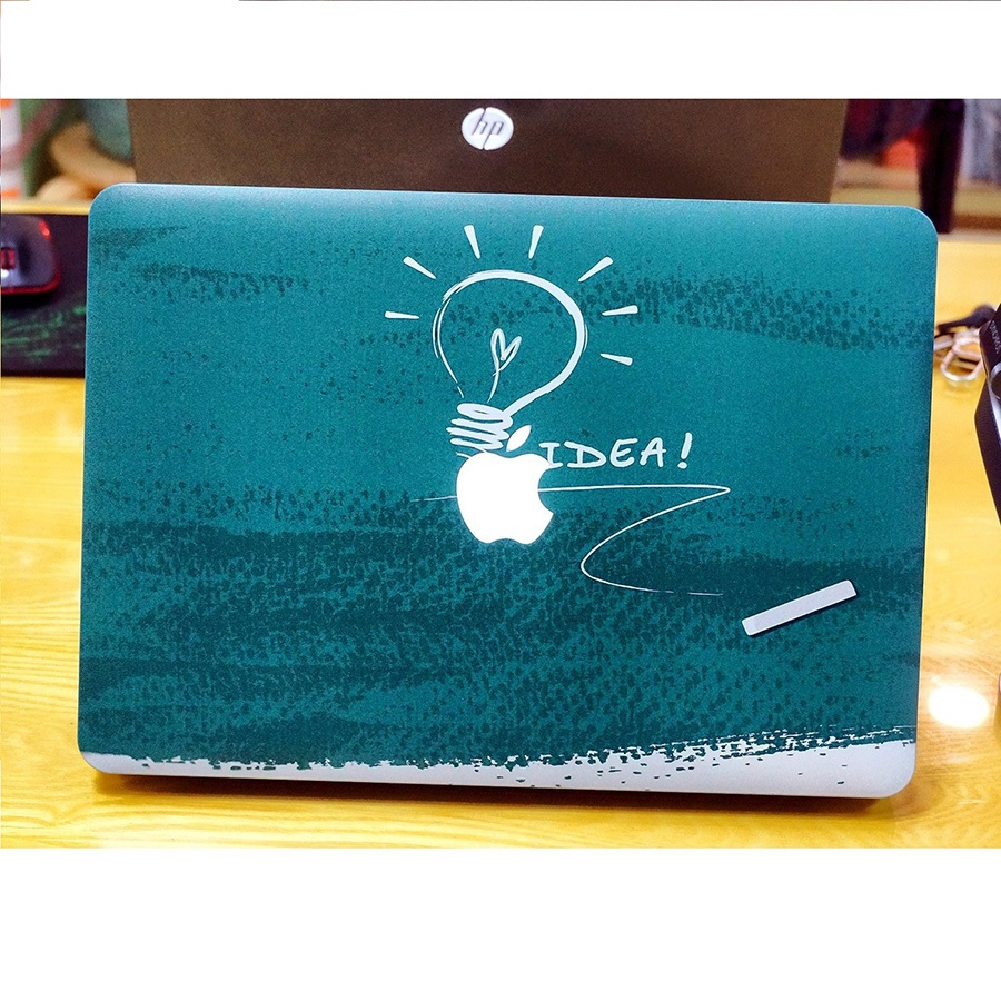 Ốp lưng bảo vệ cho Macbook in hình iDea tuyệt đẹp