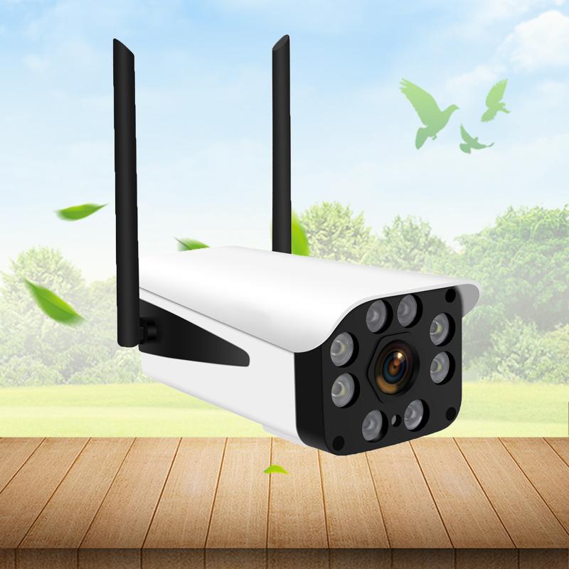 Camera IP wifi ngoài trời, có cổng LAN chuẩn 1080P