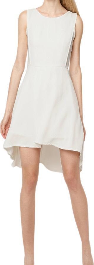 Đầm Nữ Dáng Đuôi Tôm Mint Basic - Trắng Size L