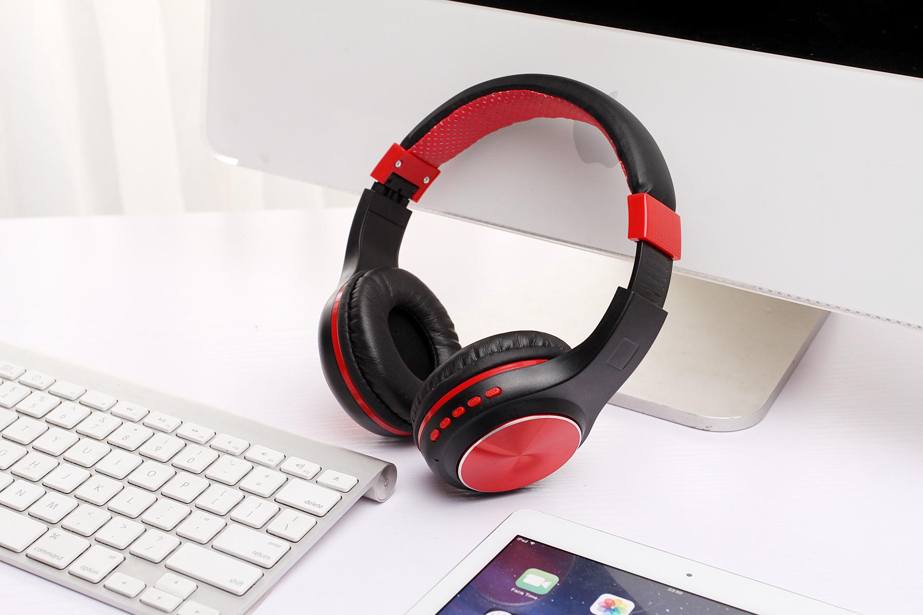 Tai Nghe Chụp Tai Không Dây Bluetooth Cao Cấp L6