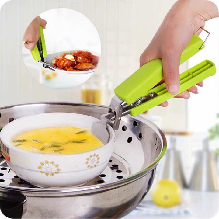 Dụng cụ gắp đồ ăn nóng tiện dụng - DCGN - Giao màu ngẫu nhiên