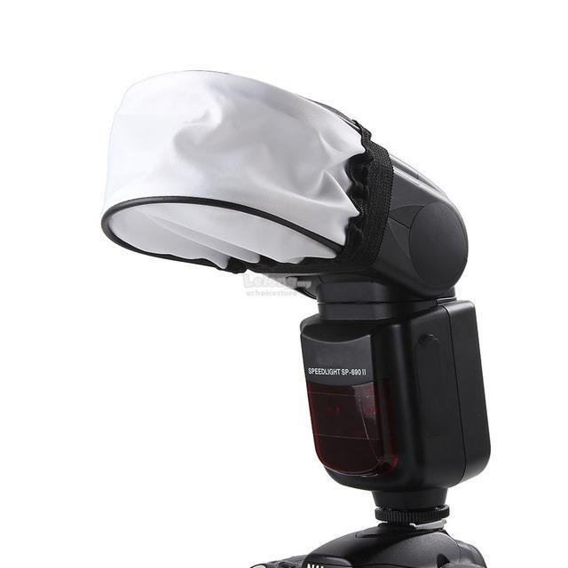 Softbox flash rời nhỏ - Softbox mini - tản sáng đèn flash