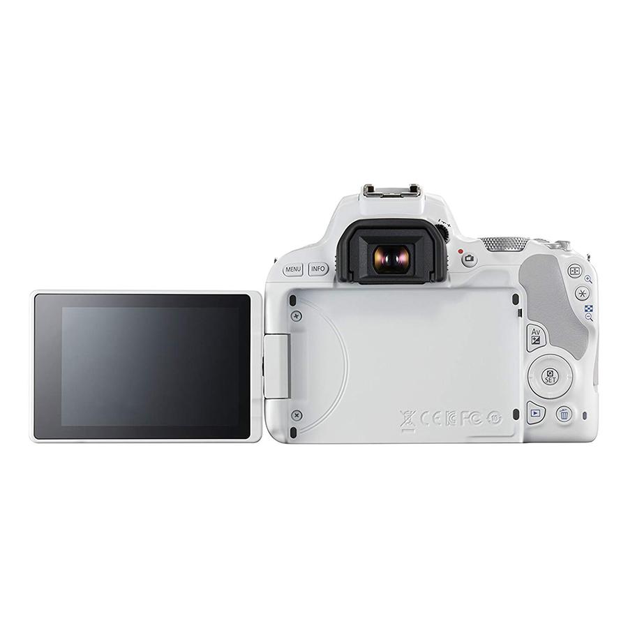 Máy Ảnh Canon EOS 200D KIT 18-55 IS STM (Trắng) - Hàng Nhập Khẩu