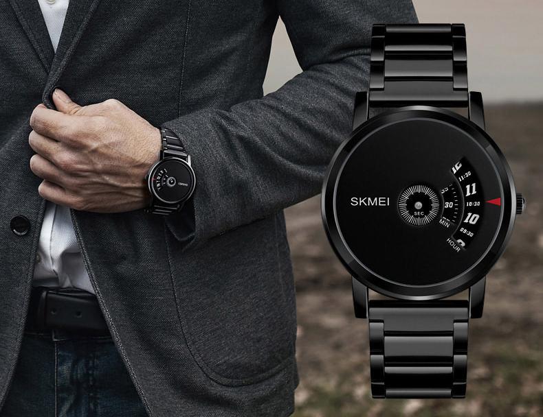 Đồng hồ thể thao nam điện tử dây thép không gỉ Skmei 1260