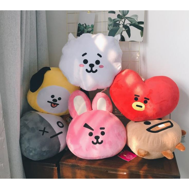 BT21 Face Cushion Doll BTS