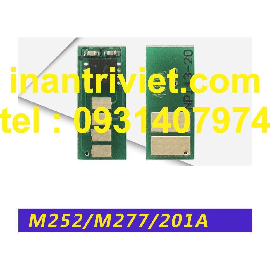 chip mực HP HP252n CF400A CF401A CF402A CF403A M252dw hp201a M274n M277n M277dw HP252