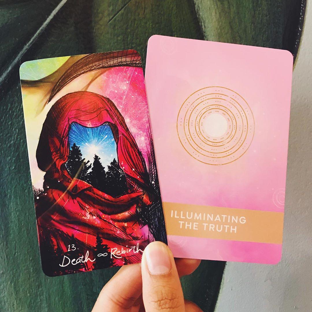 Bộ Tarot The Healing Mantra Deck Bài Bói New