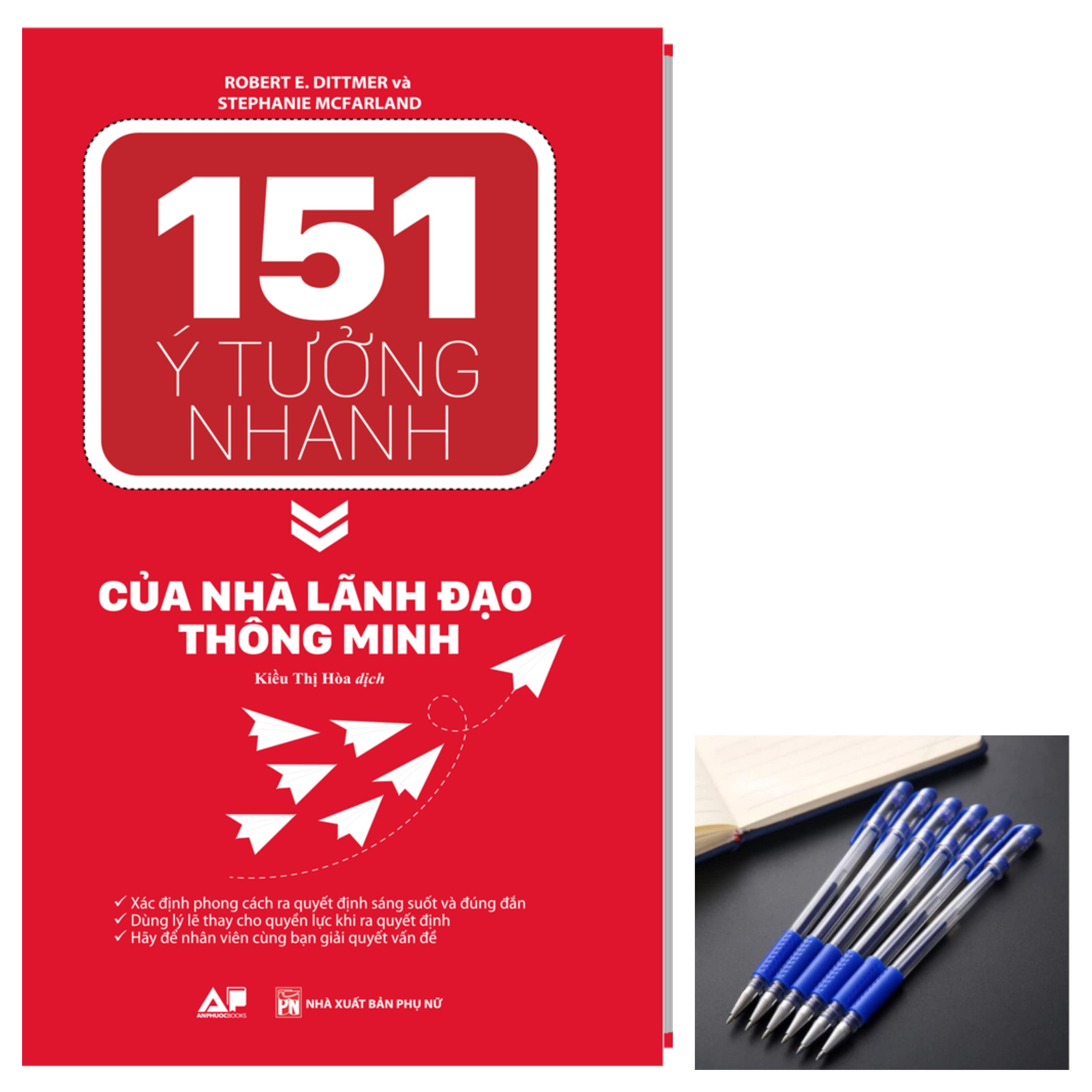 151 Ý Tưởng Nhanh Của Nhà Lãnh Đạo Thông Minh tặng bút bi