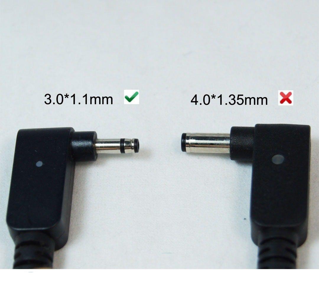 Sạc Dành Cho Laptop Asus 19V - 2.37A chân nhỏ (chuẩn 3.0mm * 1.1mm )