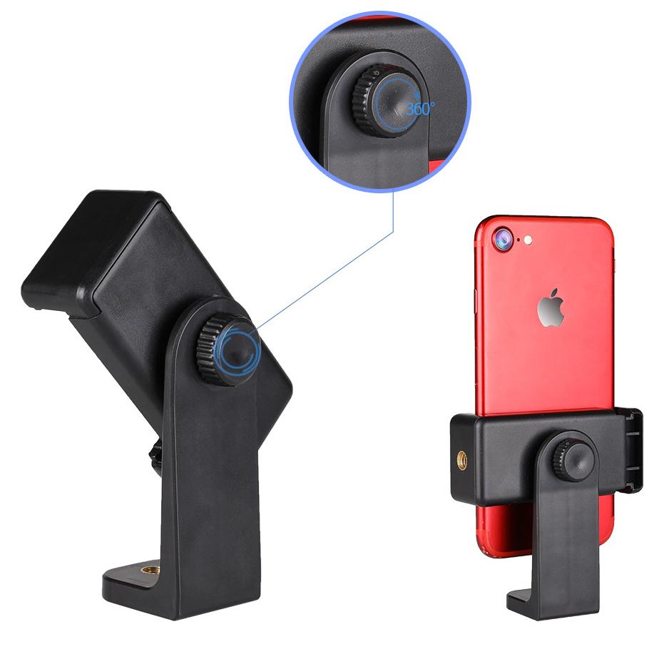 Kẹp điện thoại xoay 360 độ