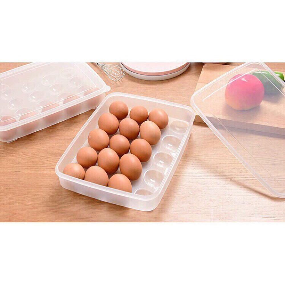 Bộ 1 Khay đựng trứng 24 quả chất liệu nhựa cao cấp dày dặn