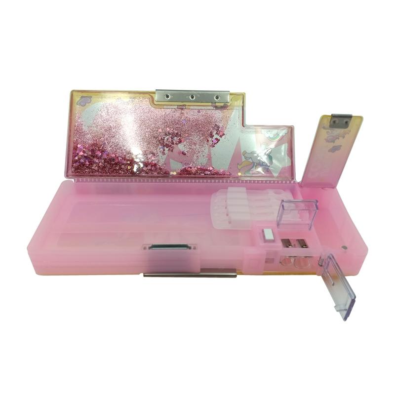 Hộp Bút Nhựa 35264 - Màu Hồng