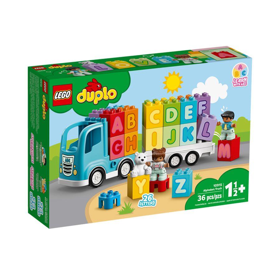Mô Hình Lắp Ráp Lego Duplo Đoàn Tàu Học Chữ 10915 (36 chi tiết)