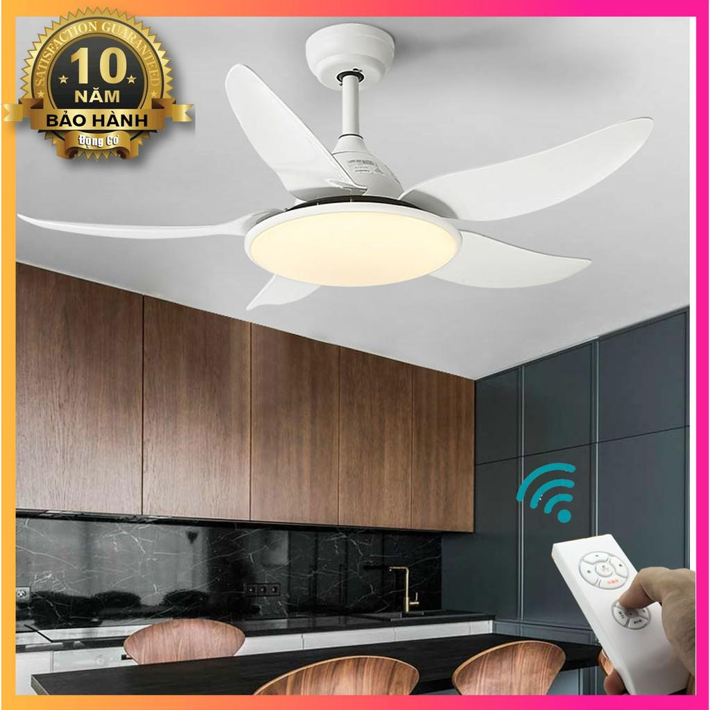 Đèn quạt trần Hiện Đại phong cách Châu Âu, Quạt trần đèn phòng khách, phòng ngủ SLY2500T